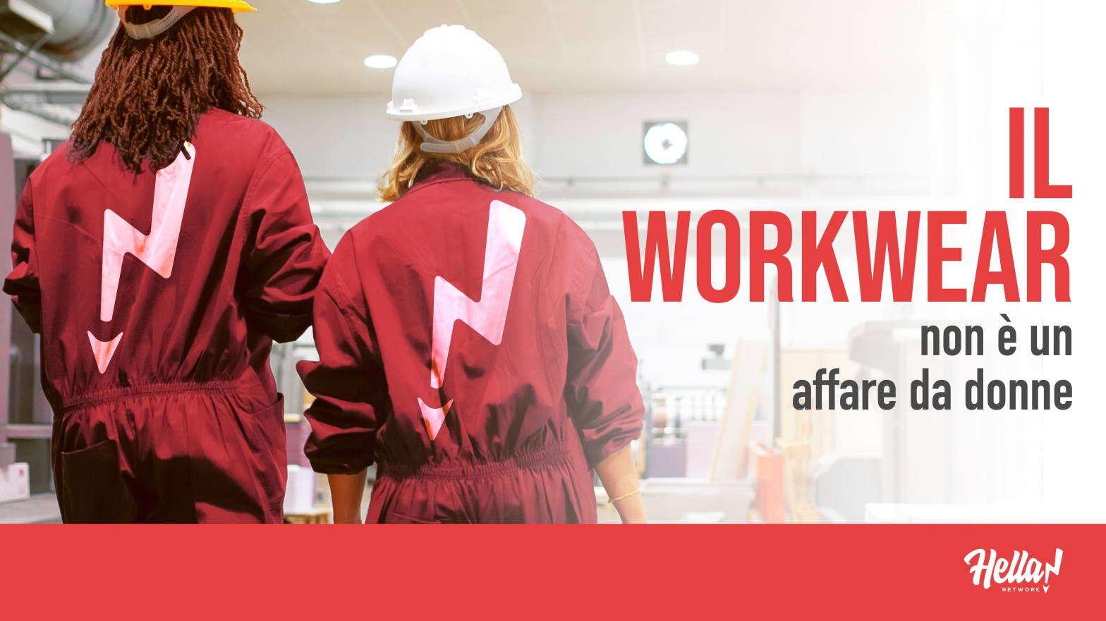 il workwear non è un affare da donne